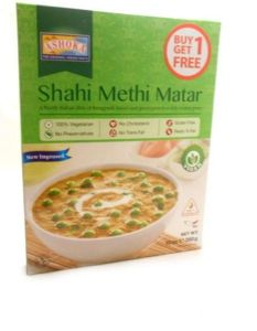 Ashoka Shahi Methi Matar | Buy Online at the Asian Cookshop